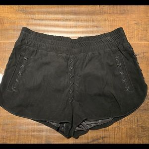 Nasty gal leather dolphin shorts